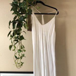 bcbg white maxi dress